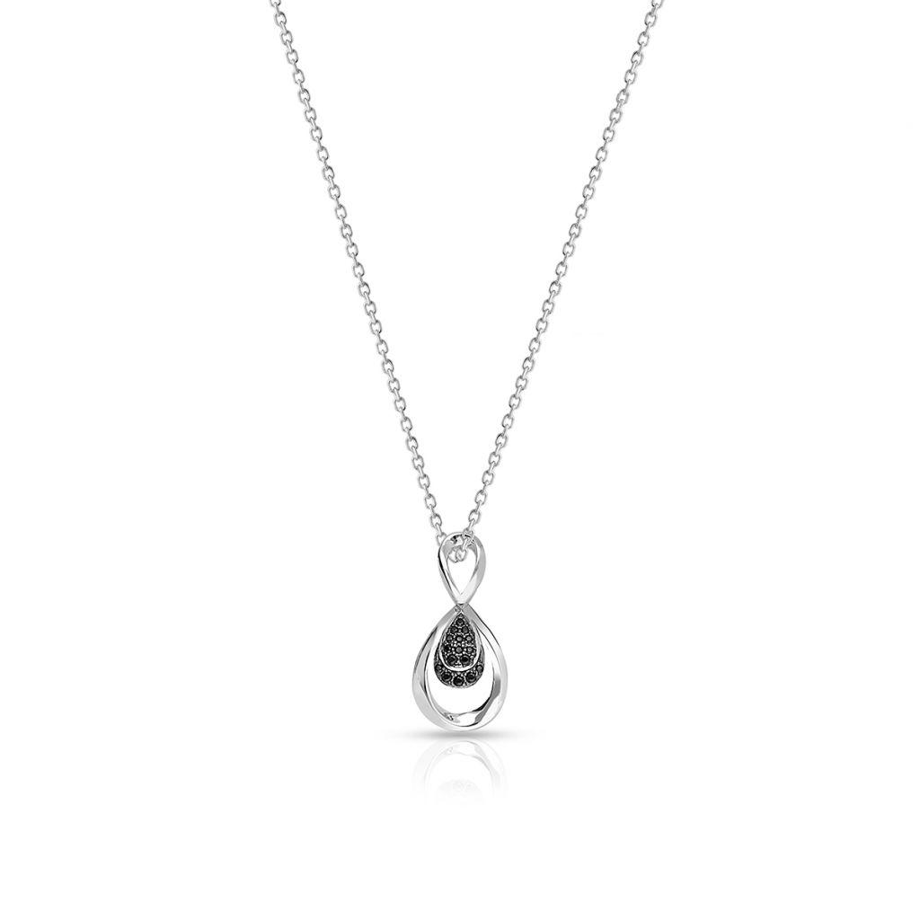 W.KRUK Unikalny Srebrny Wisiorek – srebro 925, Cyrkonia – SDL/WC182