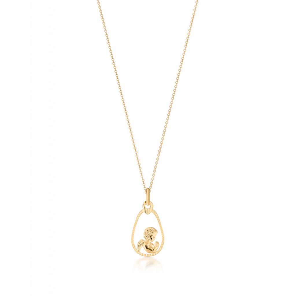 W.KRUK Wyjątkowy Złoty Wisiorek – złoto 585 – ZIV/WZ31