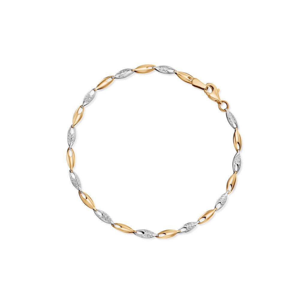 W.KRUK Piękna Złota Bransoletka – złoto 585 – ZAZ/AZ461BK