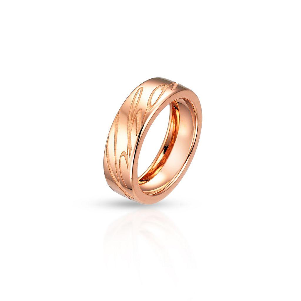 W.KRUK Pierścionek różowe złoto Chopard – ZPD/PZ01R /18U018