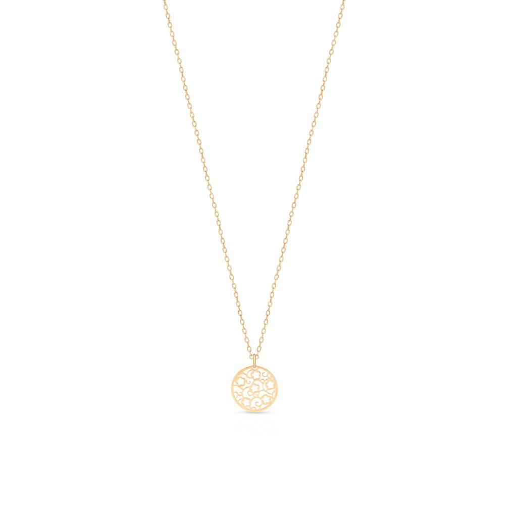 W.KRUK Złoty Wisiorek – złoto 585 – ZES/WZ16