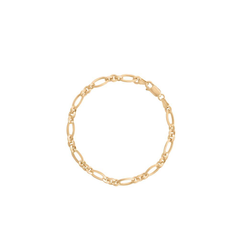 W.KRUK Zjawiskowa Bransoletka Złota – złoto 375 – ZBT/AZ44