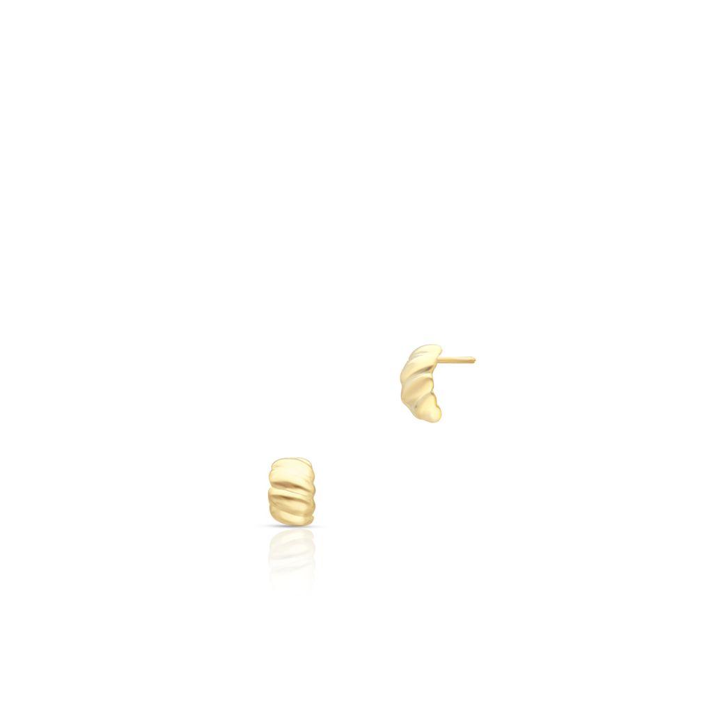 W.KRUK Zjawiskowe Złote Kolczyki – złoto 585 – ZTO/KZ217