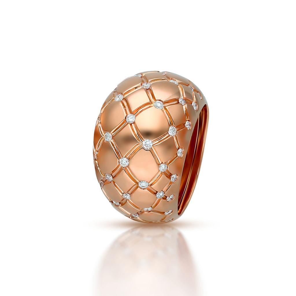 W.KRUK Pierścionek złoty Enrico Capra – ZCR/PB+111R