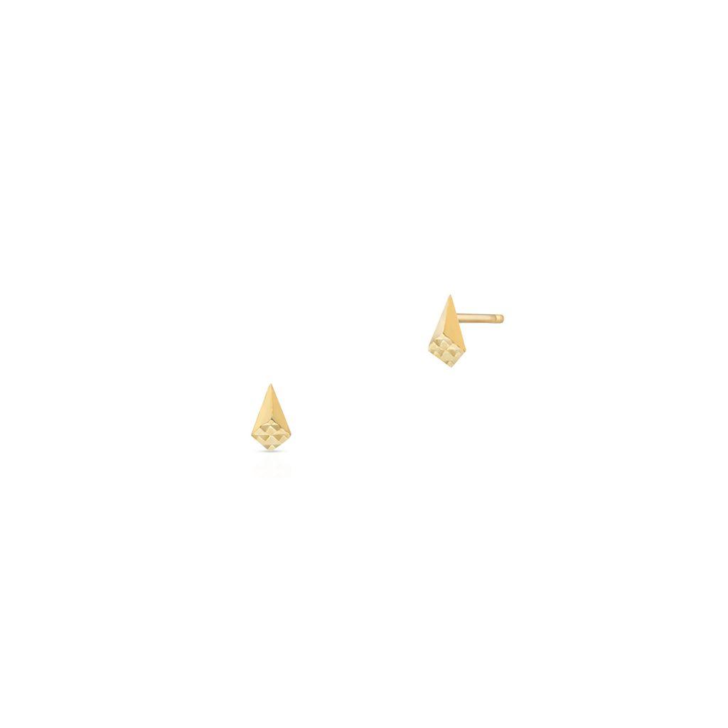 W.KRUK Złote Kolczyki – złoto 375 – ZIO/KZ08