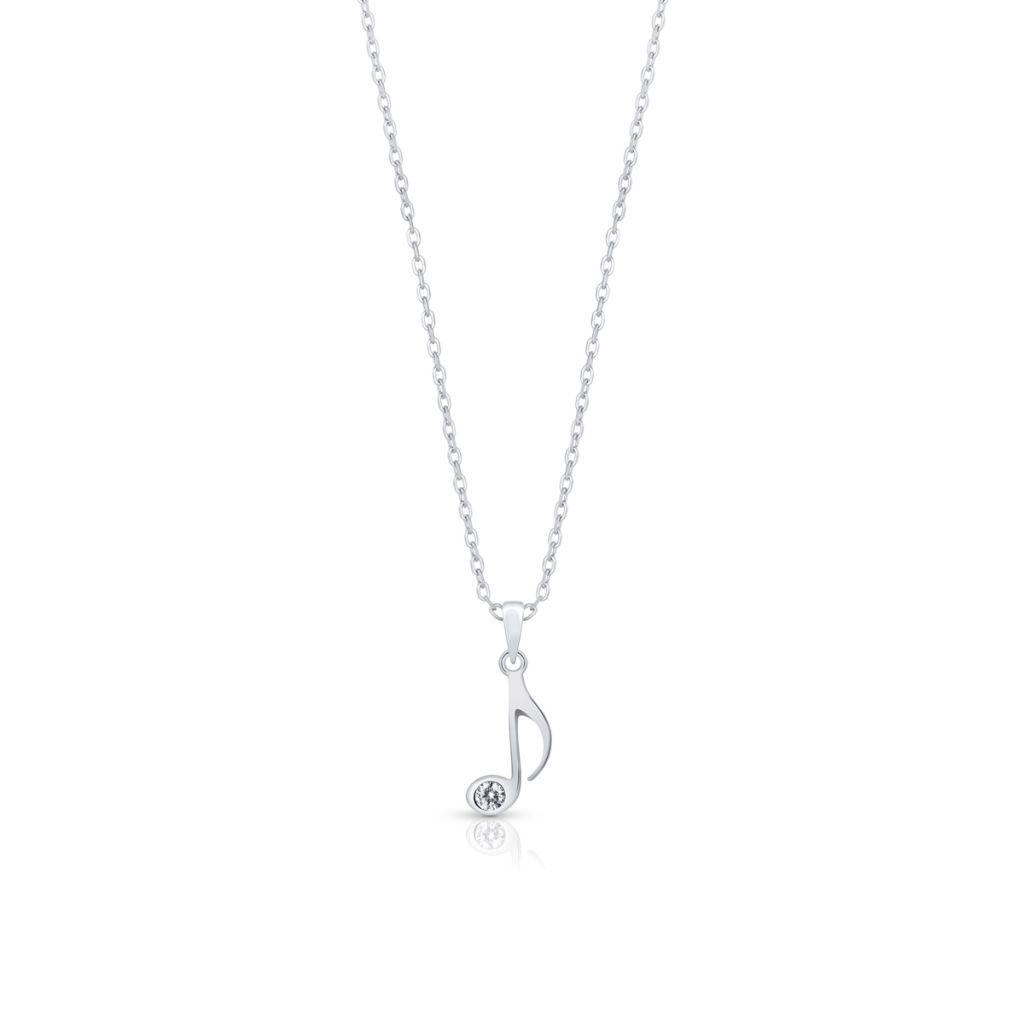 W.KRUK Piękny Srebrny Wisiorek – srebro 925, Cyrkonia – STD/WC208