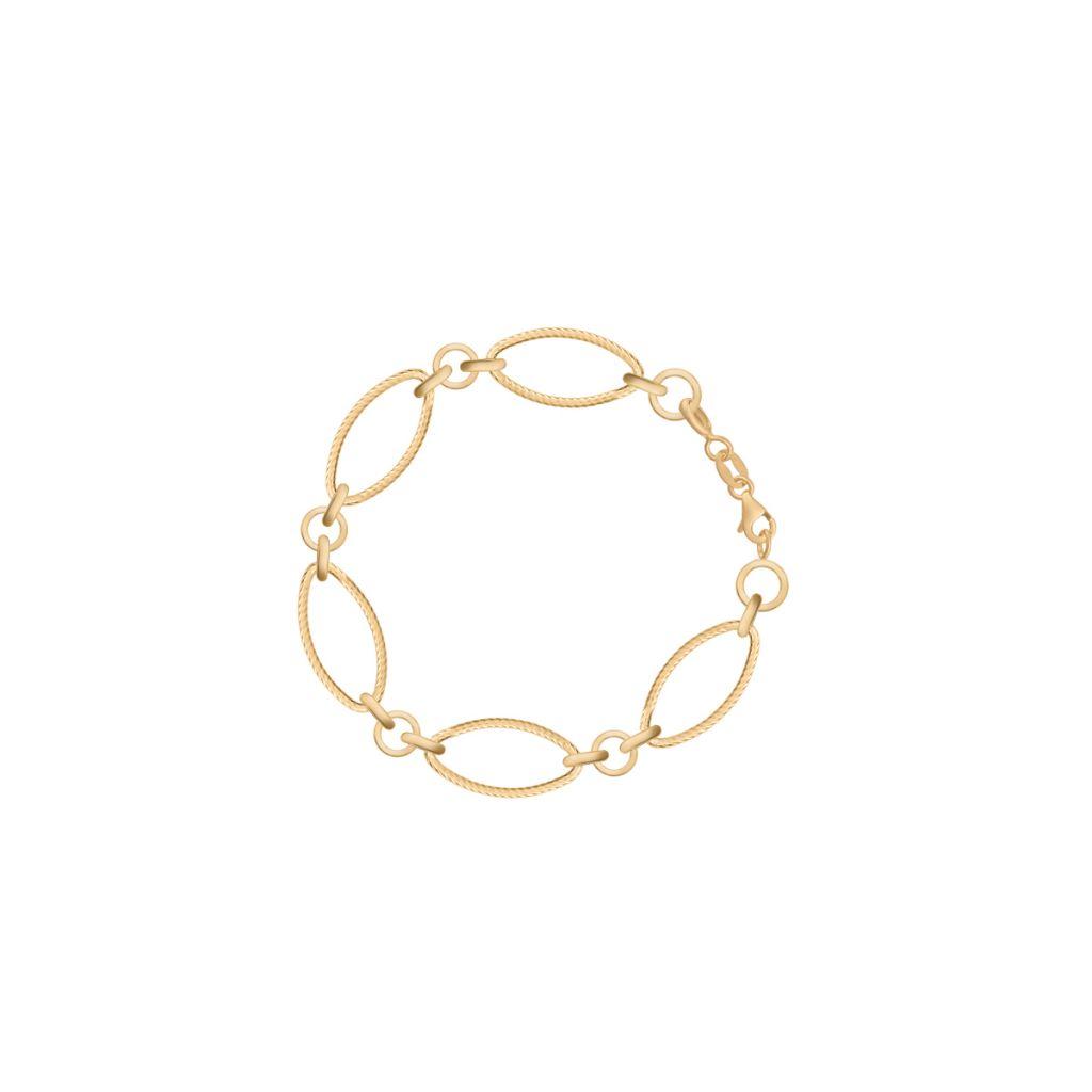 W.KRUK Wyjątkowa Złota Bransoletka – złoto 585 – ZRH/AZ130