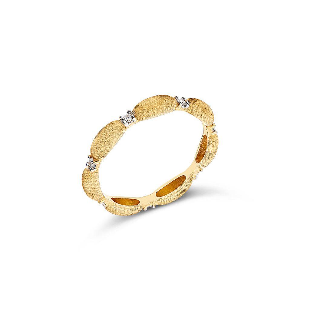 W.KRUK Pierścionek złoty Nanis – ZNA/PB+371