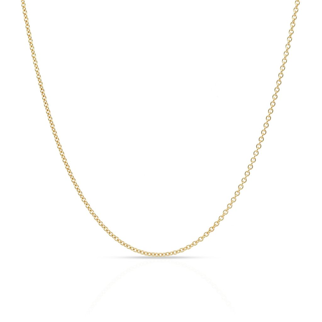 W.KRUK Zjawiskowy Łańcuszek Złoty – złoto 375 – ZVI/LR408