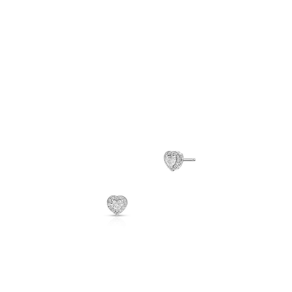 W.KRUK Kolczyki białe złoto RECARLO – ZIE/KB+78B