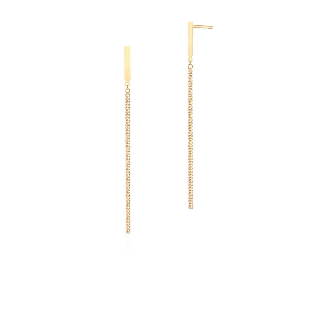 W.KRUK Unikalne Kolczyki Złote – złoto 375 – ZTO/KZ173
