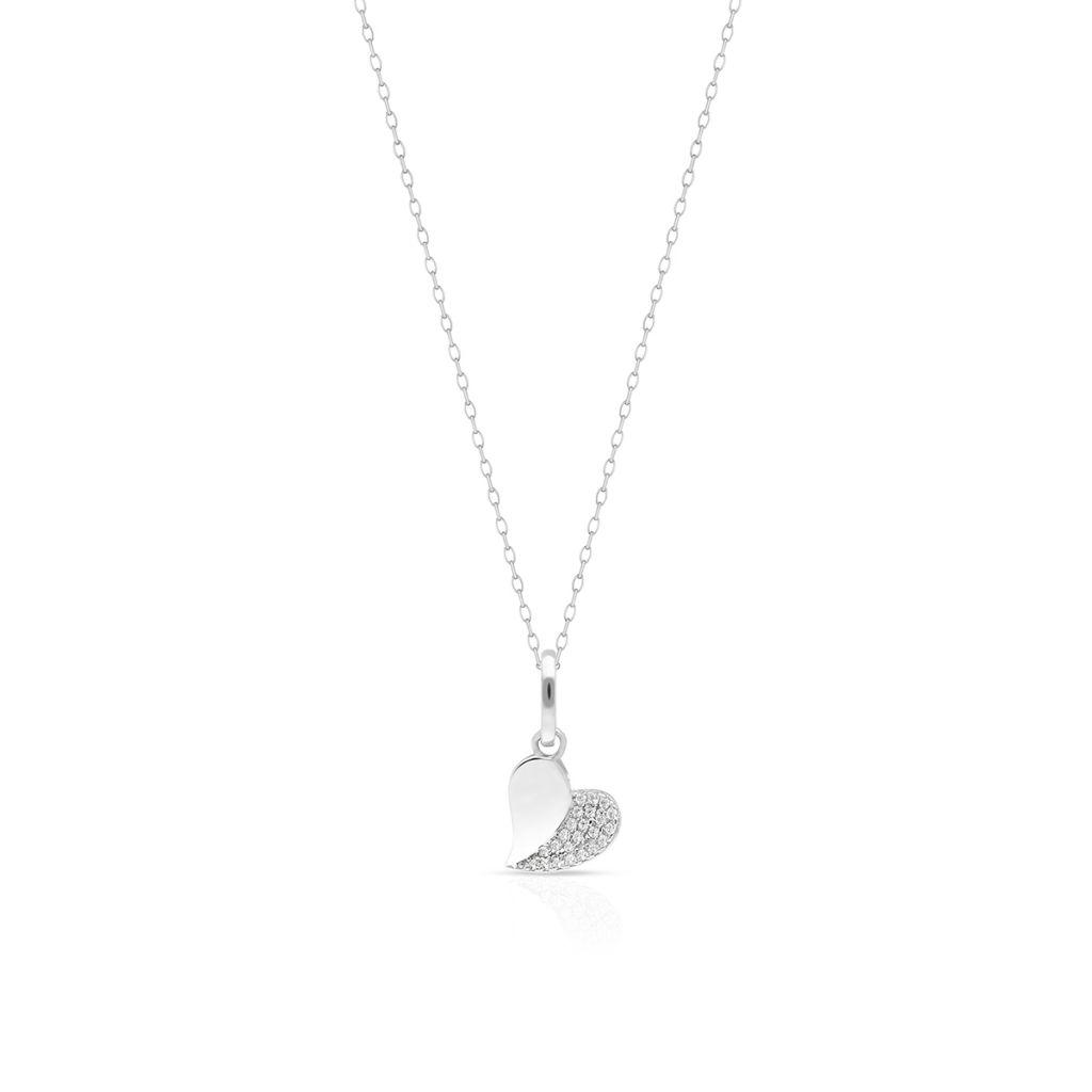 W.KRUK Unikalny Srebrny Wisiorek – srebro 925, Cyrkonia – SGR/WC330