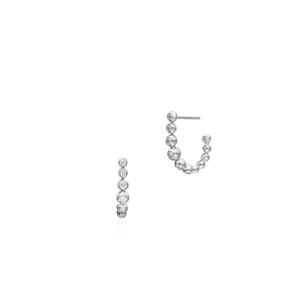 W.KRUK RABAT Kolczyki białe złoto Casato – ZTT/KB+160B